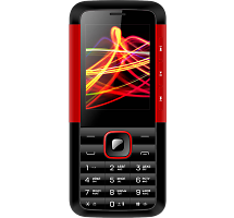 Телефон Vertex D532 Black Red